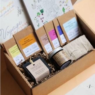 box jardinage bio, cadeau femme, voyage en terre lunaire