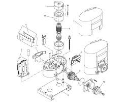 Seznam náhradních dílů pro pohon posuvné brány Beninca MS4