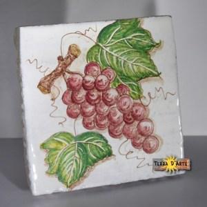 decoro-uva-rossa-ceramica-siciliana-terradarte-15x15-terracotta