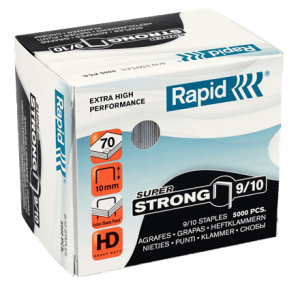 Rapid SuperStrong Staples 9/10 – 5000pcs