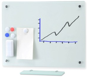 Frameless Magnetic Glass Board