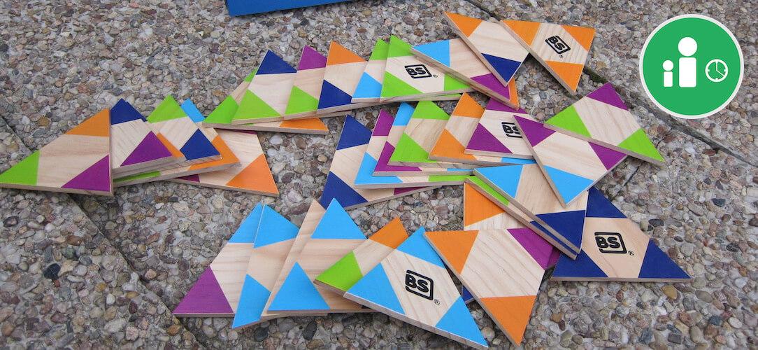 Domino - trojúhelníkové