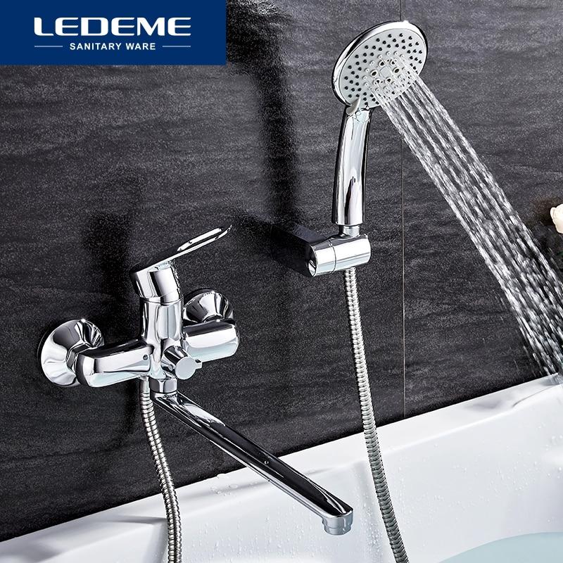 ledeme 1 set bathroom bathtub faucets