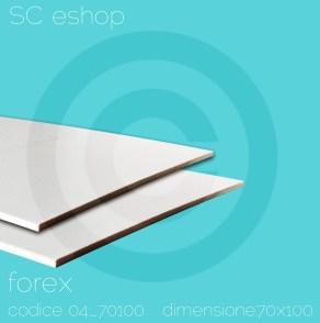 sono pannelli stampati sul supporto chiamato Forex