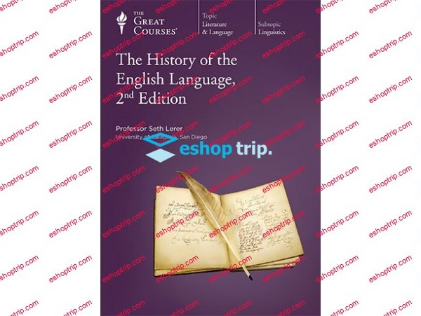 TTC Video History of the English Language 2nd Edition
