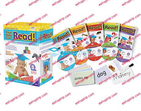 Your Baby Can Read – 6 DVD – Complete Set