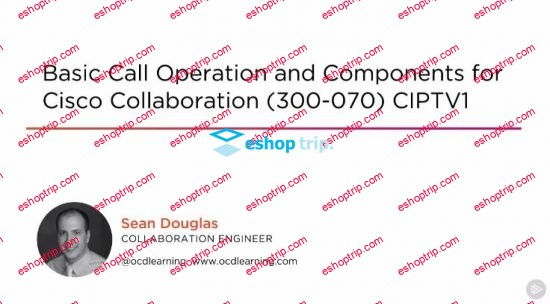 Basic Call Operation and Components for Cisco Collaboration 300 070 CIPTV1