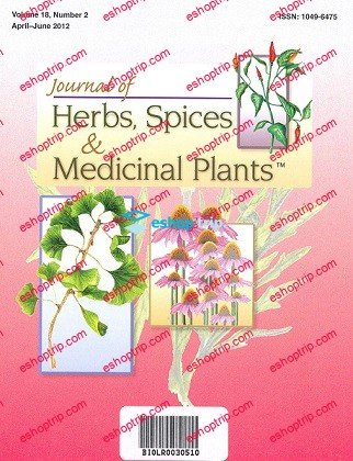 Journal of Herbs Spices Medicinal Plants 1992 2016