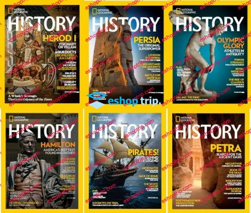 National Geographic History Full Year 2016 Collection