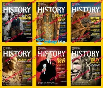 National Geographic History Full Year 2017 Collection 1