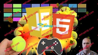 JavaScript Game for beginners Breakout HTML5 Game
