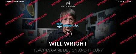 MasterClass Will Wright Teaches Game Design Theory