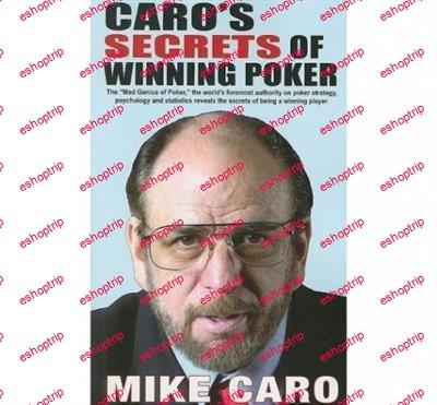 Mike Caro Poker Tips