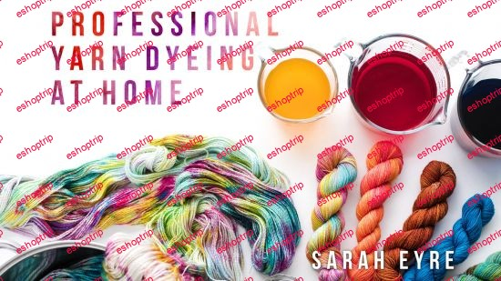 Professional Yarn Dyeing at Home