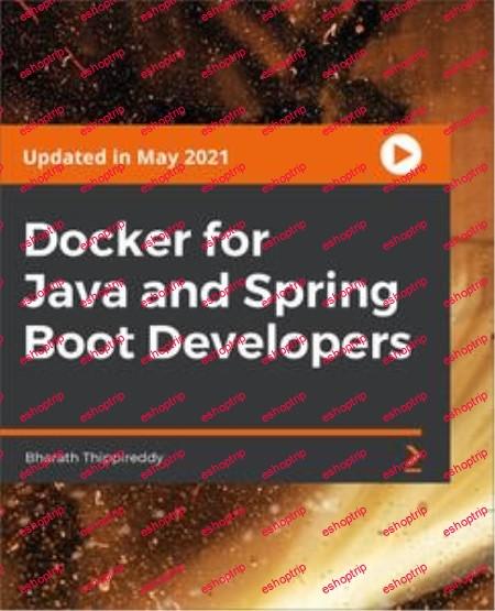 Docker for Java and Spring Boot Developers