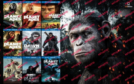 Planet Of The Apes Complete Collection 1080p BluRay H264 AC3 DD5.1