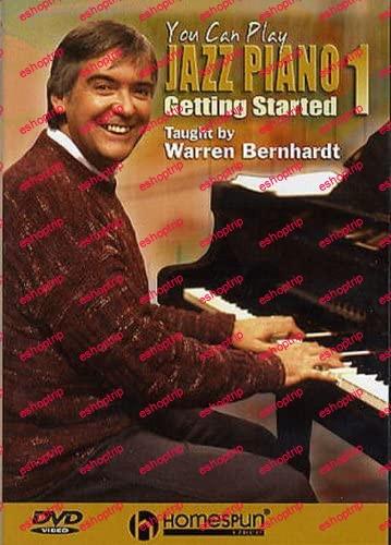 Warren Bernhardt You Can Play Jazz Piano