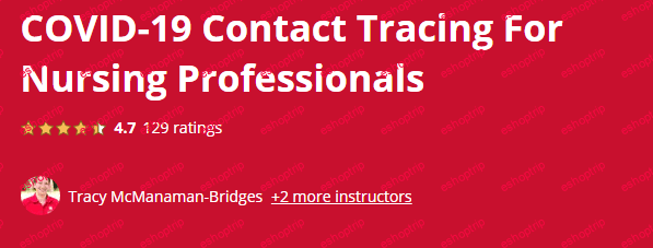 Coursera COVID 19 Contact Tracing For Nursing Professionals