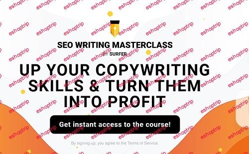 Surfer SEO Writing Masterclass