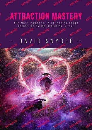 David Snyder Attraction Mastery 2021