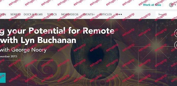 Lyn Buchanan Unlocking your Potential for Remote Viewing