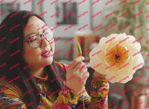 Papercraft Flowers Beautiful Lifelike Florals Anyone Can Make