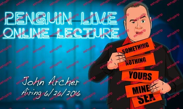 Penguin Live Online Lecture with John Archer