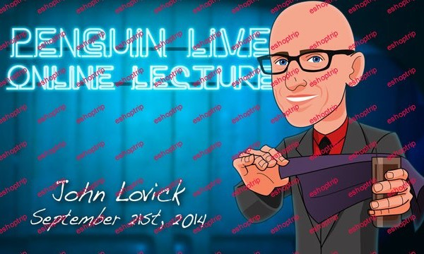 Penguin Live Online Lecture with John Lovick