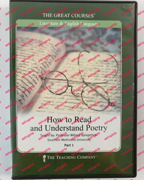TTC Audio How to Read and Understand Poetry