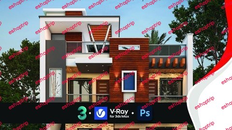 Advanced 3d Exterior Visualization with 3ds Max V Ray