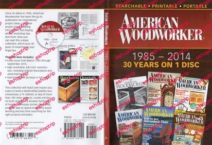 American Woodworker 1985 2014 DVD