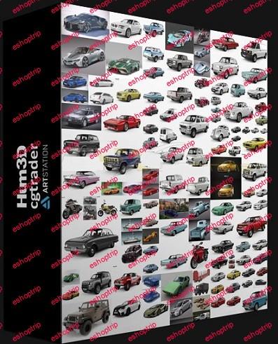 Car 3D Models Bundle 2021