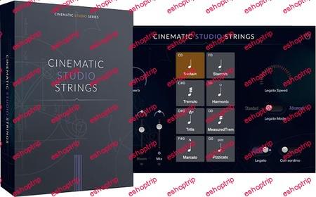 Cinematic Studio Series Cinematic Studio Strings v1.5 KONTAKT