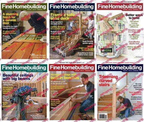 Fine Homebuilding 2016 Full Year