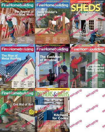 Fine Homebuilding Full Year 2020 Issues Collection
