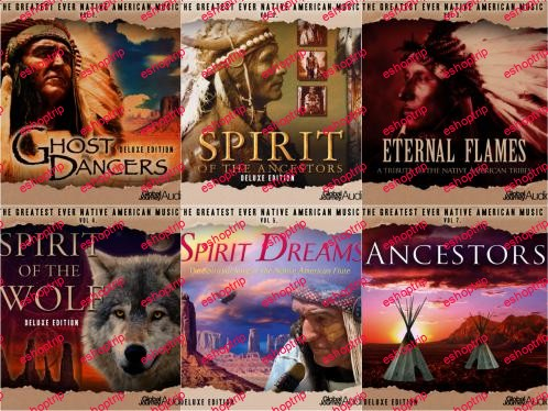 Global Journey The Greatest Ever Native American Music Collection 6CD 2013 MP3