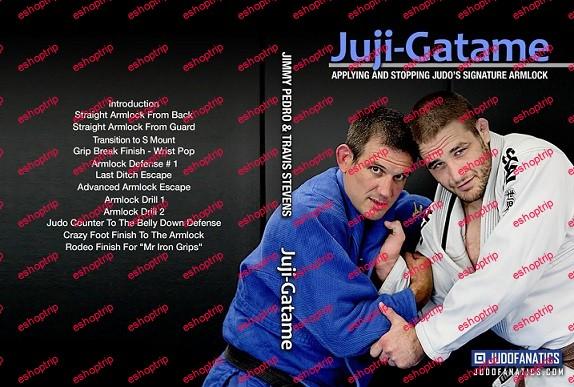 Jimmy Pedro and Travis Stevens Arm Lock Series Juji Gatame