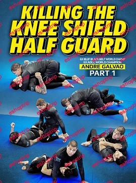 Killing The Knee Shield Half Guard by Andre Galvao