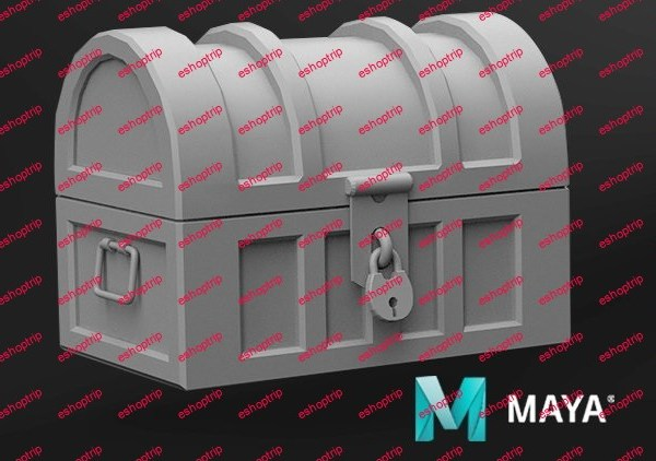 Maya For beginners Model a Treasure Chest Step by step