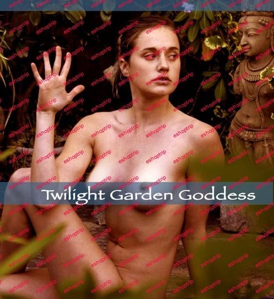 Pure Nude Yoga Twilight Garden Goddess Naked Yoga Instruction