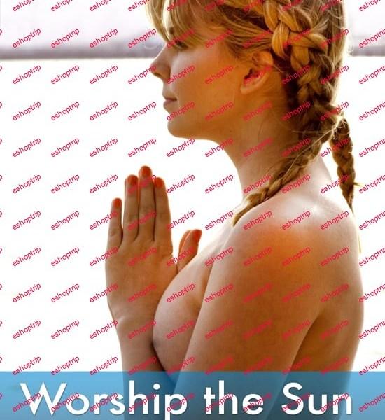 Pure Nude Yoga Worship the Sun