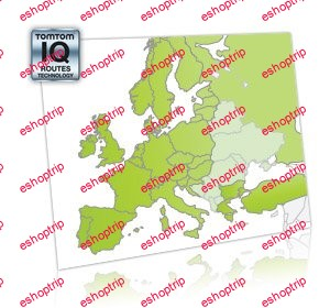 TomTom Maps Europe TRUCK 1070.10903 05.2021 Multilingual