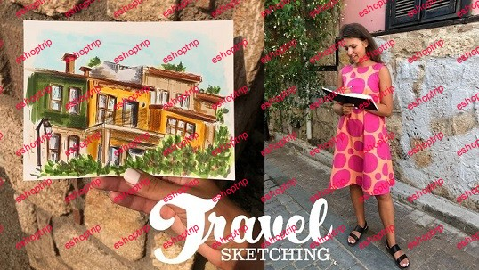 Travel Sketching Basics Examples and Exercises