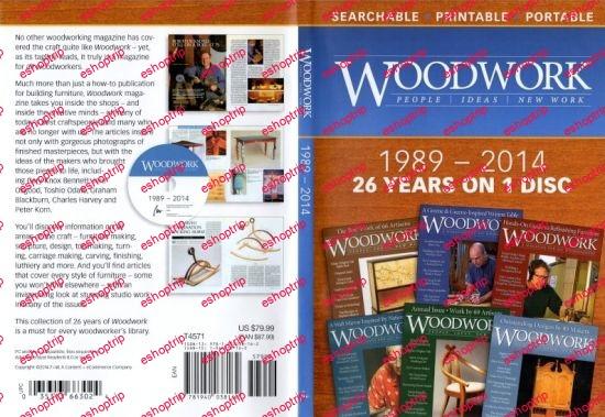 Woodwork Magazine 1989 2014 DVD