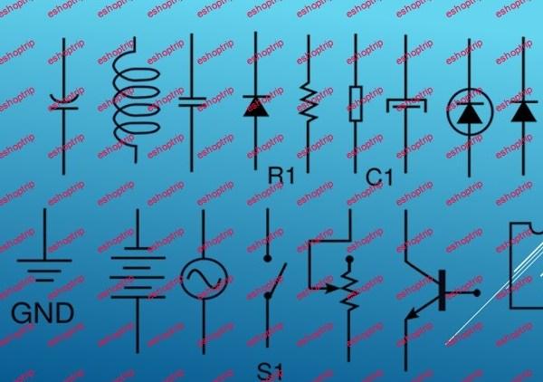 70 Basic Electrical Electronic Logic Symbols Explanation