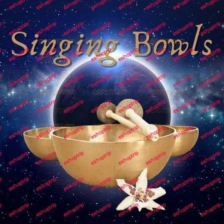 Tibetan Eclipse Singing Bowls for Mindfulness Meditation Relaxation Spa 2021