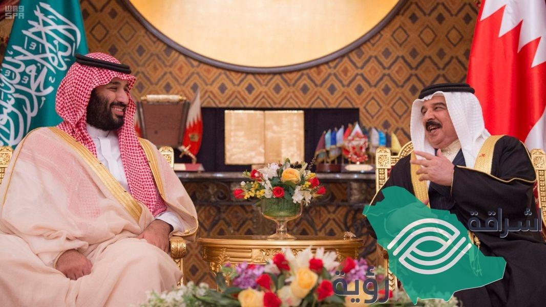 ولي العهد يعقد جلسة مباحثات مع ملك البحرين