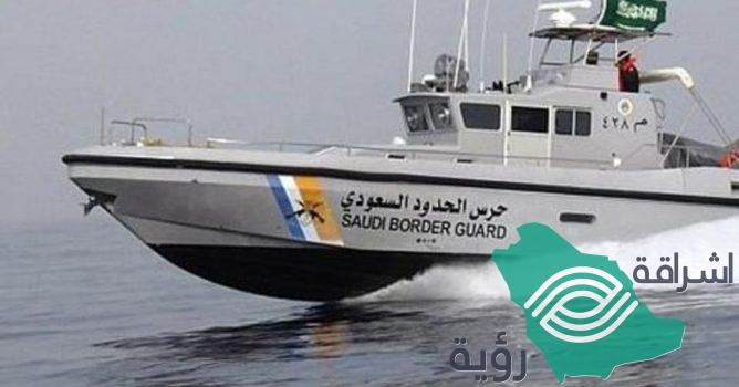 حرس الحدود في مكة ينقذ بحارًا هنديًا تعرض لحالة مرضية طارئة في عرض البحر