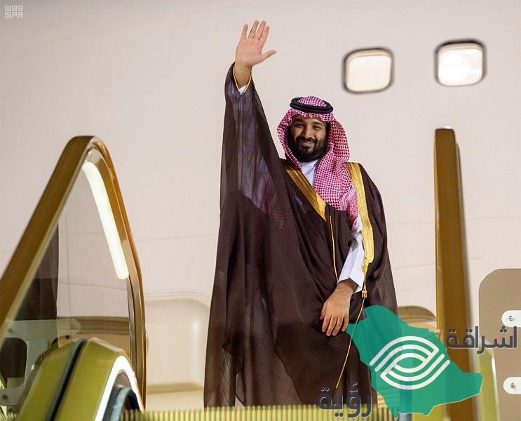 ولي العهد يغادر مملكة البحرين