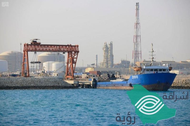 1.7 مليون طن صادرات #وعد_الشمال بميناء #رأس_الخير